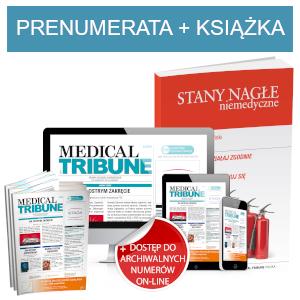 Medical Tribune (prenumerata papierowa + dostęp on-line) + Stany nagłe niemedyczne