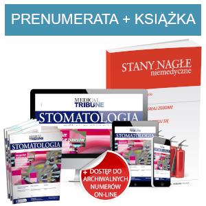 Medical Tribune Stomatologia (prenumerata papierowa + dostęp on-line) + Stany nagłe niemedyczne