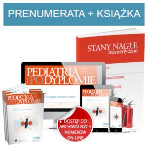 Pediatria po Dyplomie (prenumerata papierowa + dostęp on-line) + Stany nagłe niemedyczne