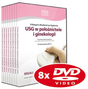 Film DVD - II Kongres Akademii po Dyplomie USG w położnictwie i ginekologii 19-20.06.2015 r.