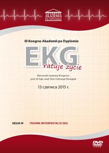 Film DVD - III Kongres Akademii po Dyplomie EKG ratuje życie 13.06.2015 r.  DVD 4 – Sesja 4