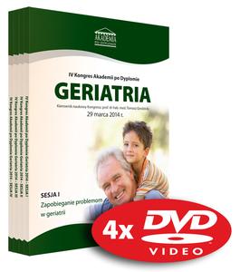 Film DVD - IV Kongres Akademii po Dyplomie GERIATRIA, 29.03.2014 r.