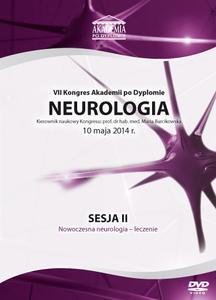 Film DVD - VII Kongres Akademii po Dyplomie Neurologia, 10.05.2014 r. DVD 2 - SESJA 2