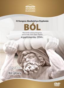Film DVD - IV Kongres Akademii po Dyplomie BÓL, 04.10.2014r.  DVD 2 - Sesja 2
