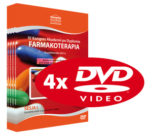 Film DVD - IV Kongres Akademii po Dyplomie FARMAKOTERAPIA, 19.10.2013 r.
