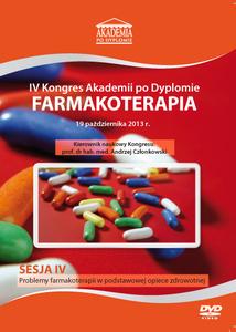Film DVD - IV Kongres Akademii po Dyplomie FARMAKOTERAPIA, 19.10.2013 r. DVD 4 – Sesja 4