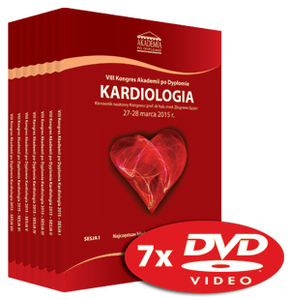 Film DVD - VIII Kongres Akademii po Dyplomie KARDIOLOGIA 27-28 marca 2015 r.
