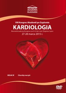 Film DVD - VIII Kongres Akademii po Dyplomie KARDIOLOGIA 27-28 marca 2015 r.  DVD 4 – Sesja 4
