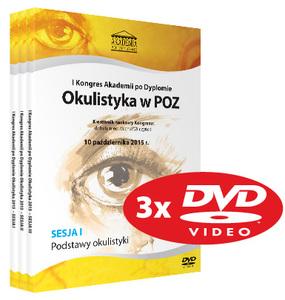 Film DVD - I Kongres Akademii po Dyplomie Okulistyka w POZ, 10.10.2015 r.