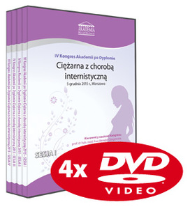 Film DVD - IV Kongres Akademii po Dyplomie Ciężarna z chorobą internistyczną, 05.12.2015 r.