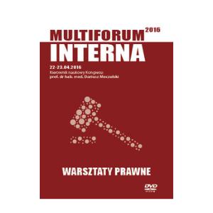 Film DVD - Kongres Akademii po Dyplomie Multiforum Interna 22-23.04.2016 WARSZTATY PRAWNE