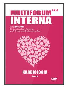 Film DVD - Kongres Akademii po Dyplomie Multiforum Interna 22-23.04.2016 KARDIOLOGIA, DVD 2 - Sesja 2