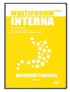 Film DVD - Kongres Akademii po Dyplomie Multiforum Interna 22-23.04.2016 GASTROENTEROLOGIA, DVD 3 - Sesja 3