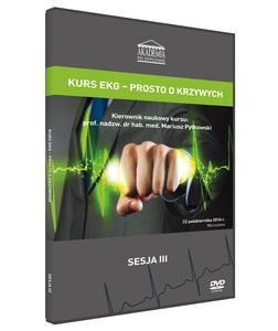 Film DVD – KURS EKG – PRSOTO O KRZYWYCH, 22 października 2016 DVD 3 - Sesja 3