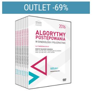Film DVD - Kongres Akademii po Dyplomie Algorytmy postępowania w ginekologii i położnictwie 2016, 16-17 września 2016   Outlet