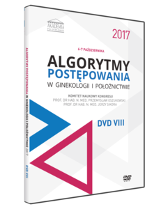 Film DVD - Kongres Akademii po Dyplomie Algorytmy postępowania w ginekologii i położnictwie 2017, 6-7 październik 2017 - DVD VIII