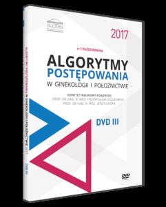 Film DVD - Kongres Akademii po Dyplomie Algorytmy postępowania w ginekologii i położnictwie 2017, 6-7 październik 2017 - DVD III
