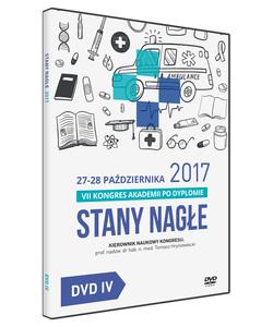 Film DVD - VII Kongres Akademii po Dyplomie Stany Nagłe, 27-28 października 2017 - DVD IV