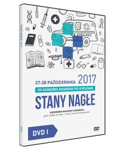 Film DVD - VII Kongres Akademii po Dyplomie Stany Nagłe, 27-28 października 2017 - DVD I
