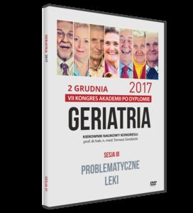 Film DVD - VII Kongres Akademii po Dyplomie GERIATRIA, 2 grudnia 2017 - SESJA III