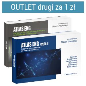 Pakiet: Atlas EKG cz.II + Atlas EKG cz.I - Drugi za 1 zł | Outlet