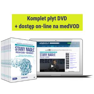 DVD + dostęp on-line do filmów: VIII Kongres Akademii po Dyplomie STANY NAGŁE 2018
