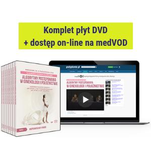 DVD + dostęp on-line do filmów: XII Kongres Akademii po Dyplomie Algorytmy postępowania w ginekologii i położnictwie 2018