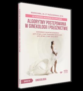 Film DVD - XII Kongres Akademii po Dyplomie - Algorytmy postępowania w ginekologii i położnictwie, 26-27 października 2018, Warszawa - SESJA IV
