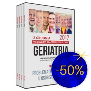 Film DVD - VII Kongres GERIATRIA, 2 grudnia 2017  | Noworoczna Wyprzedaż -50%