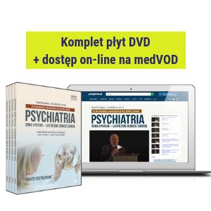 DVD + dostęp on-line do filmów: IX Kongres Akademii po Dyplomie - PSYCHIATRIA 2019