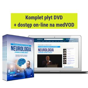 DVD + dostęp on-line do filmów: IX Kongres Akademii po Dyplomie - NEUROLOGIA 2019