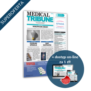 Medical Tribune za 98 zł + 1 zł online (półroczna prenumerata)
