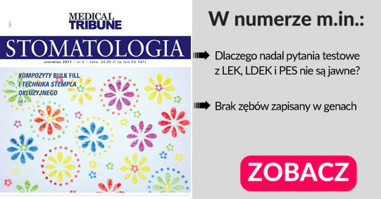Nowy numer medical tribune stomatologia